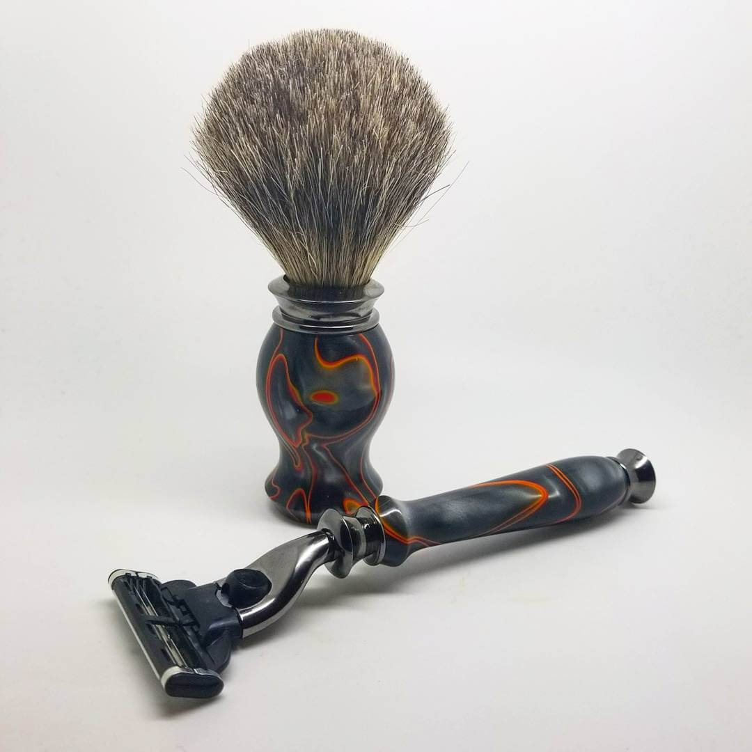 Midnight Racer Shave Set